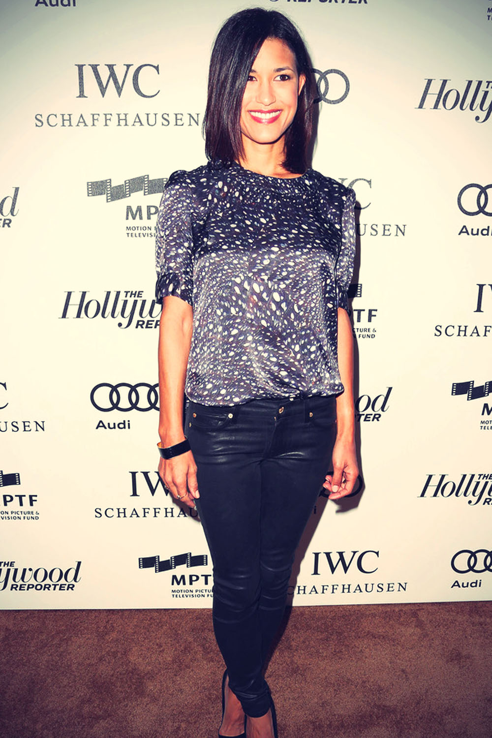 Julia Jones arrives at The Motion Picture & Television Fund Presentation of Reel Stories Real Lives