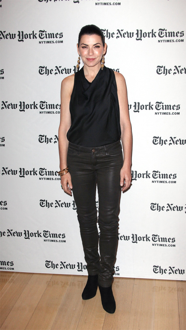 Julianna Margulies at 2012 New York Times Arts&Leisure weekend
