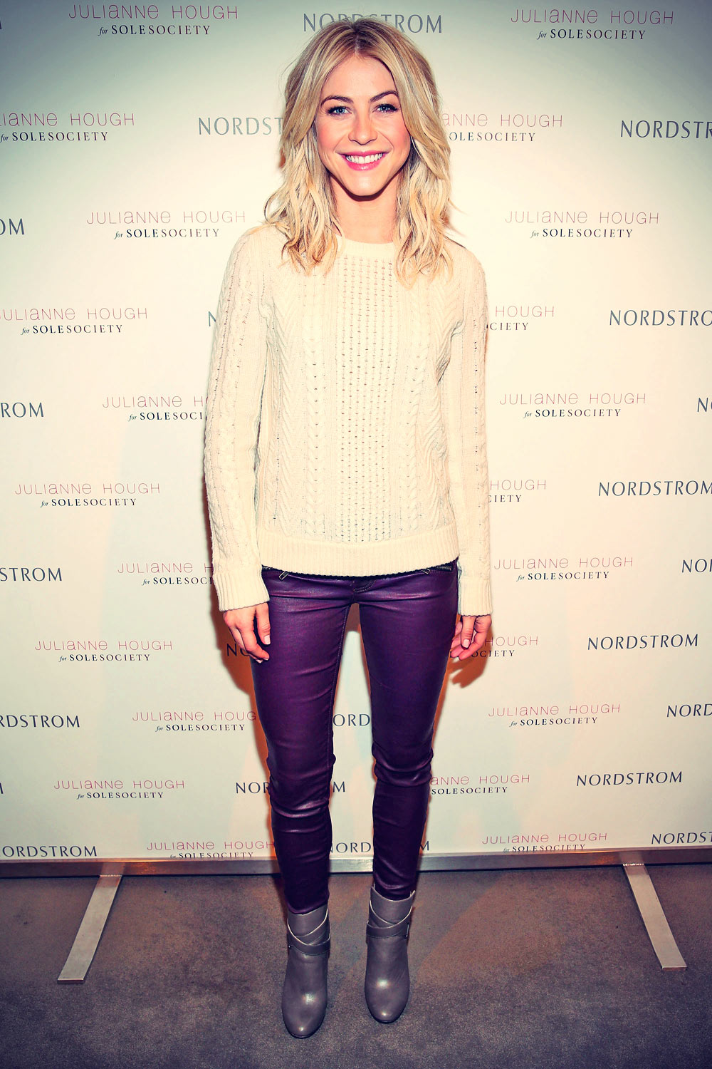Julianne Hough presents the Julianne Hough for Sole Society Collection