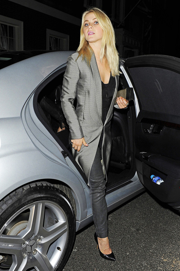 Julianne Hough seen leaving the Arts Club