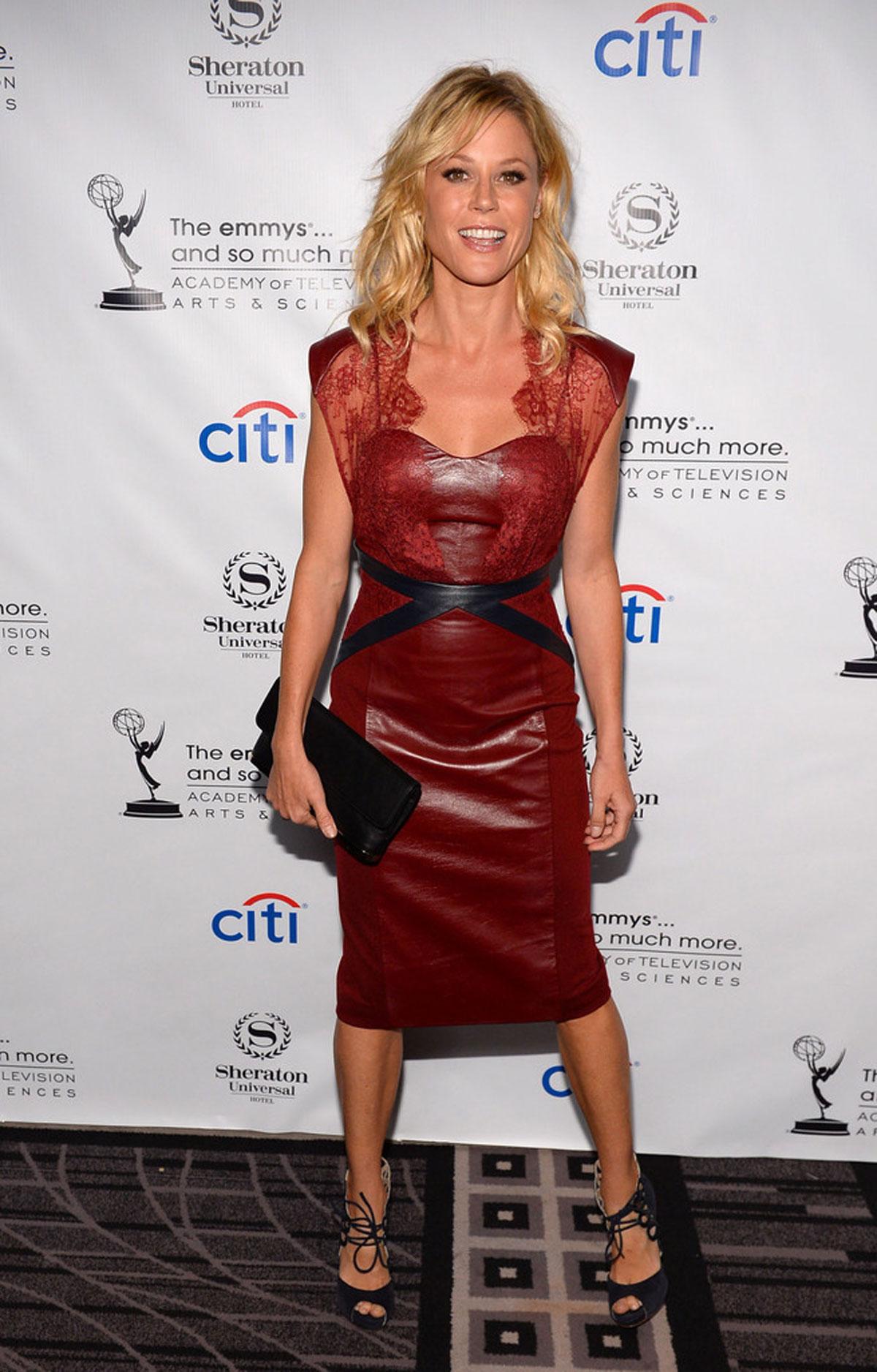 Julie Bowen attends Pre-Emmy Awards Peer Group Cocktail Reception