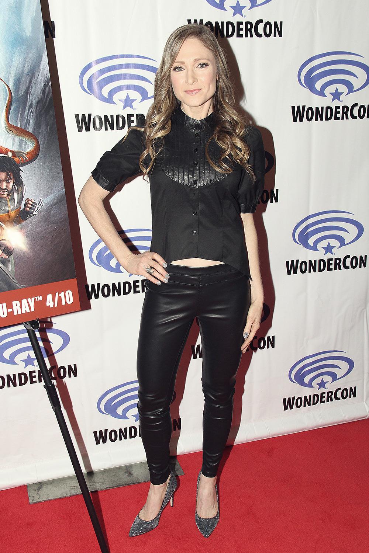 Julie Nathanson attends WonderCon 2018