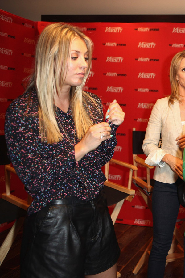 Kaley Cuoco at Variety EMMY Studio, May 30 2012