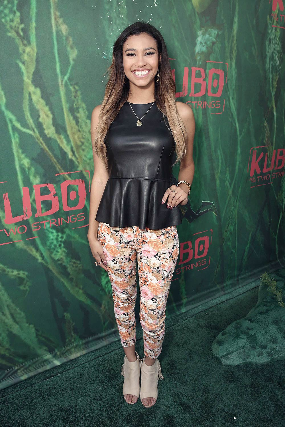 Kara Royster attends the premiere Focus Features Kubo and The Two Strings