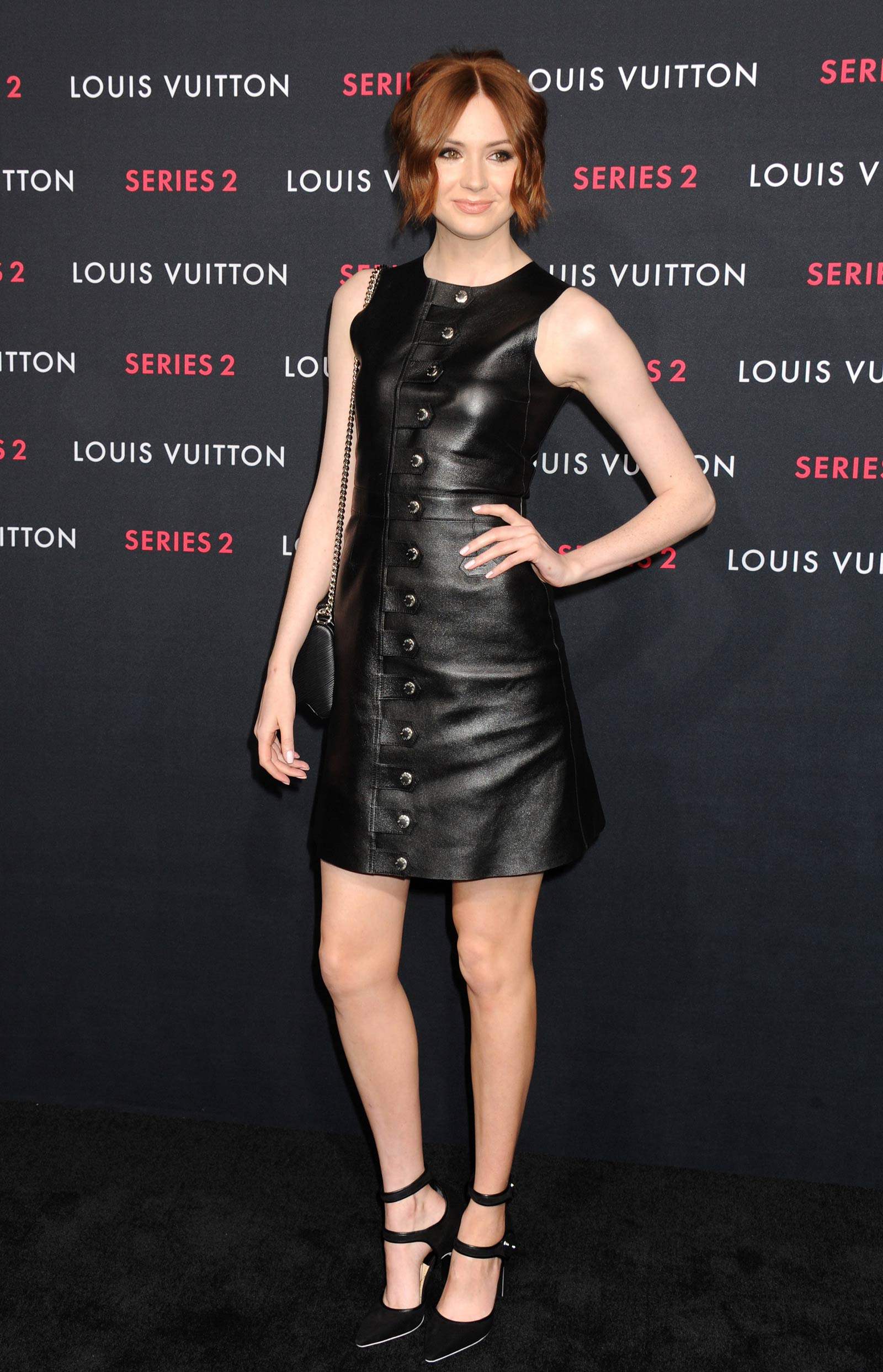 Karen Gillan attends Louis Vuitton Series 2 The Exhibition