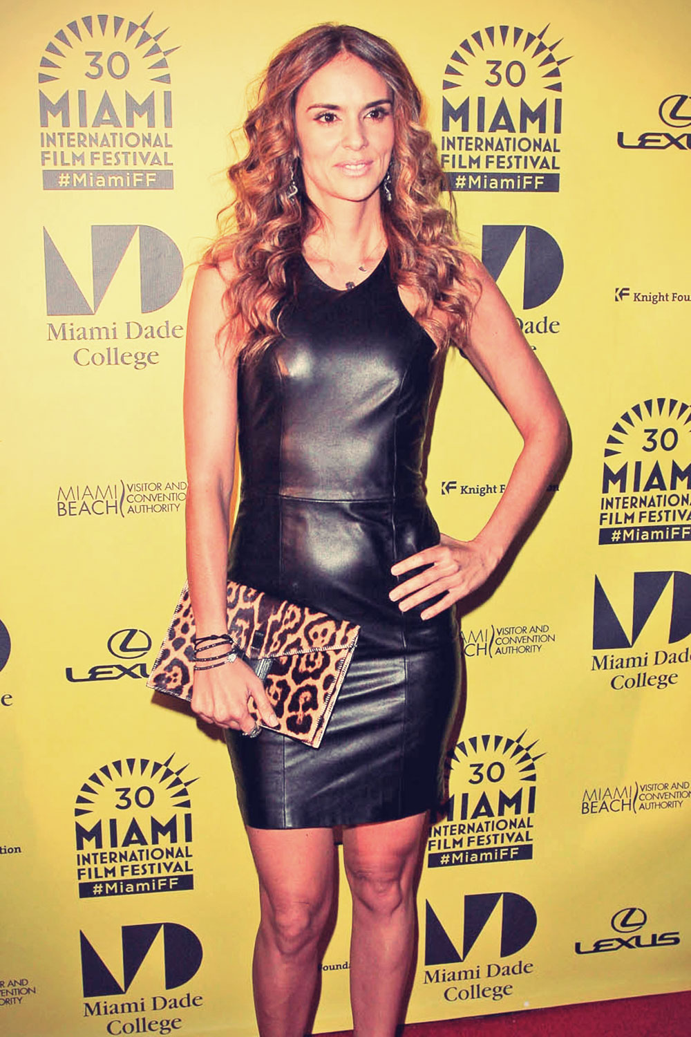 Karen Martinez attends 30th Miami International Film Festival