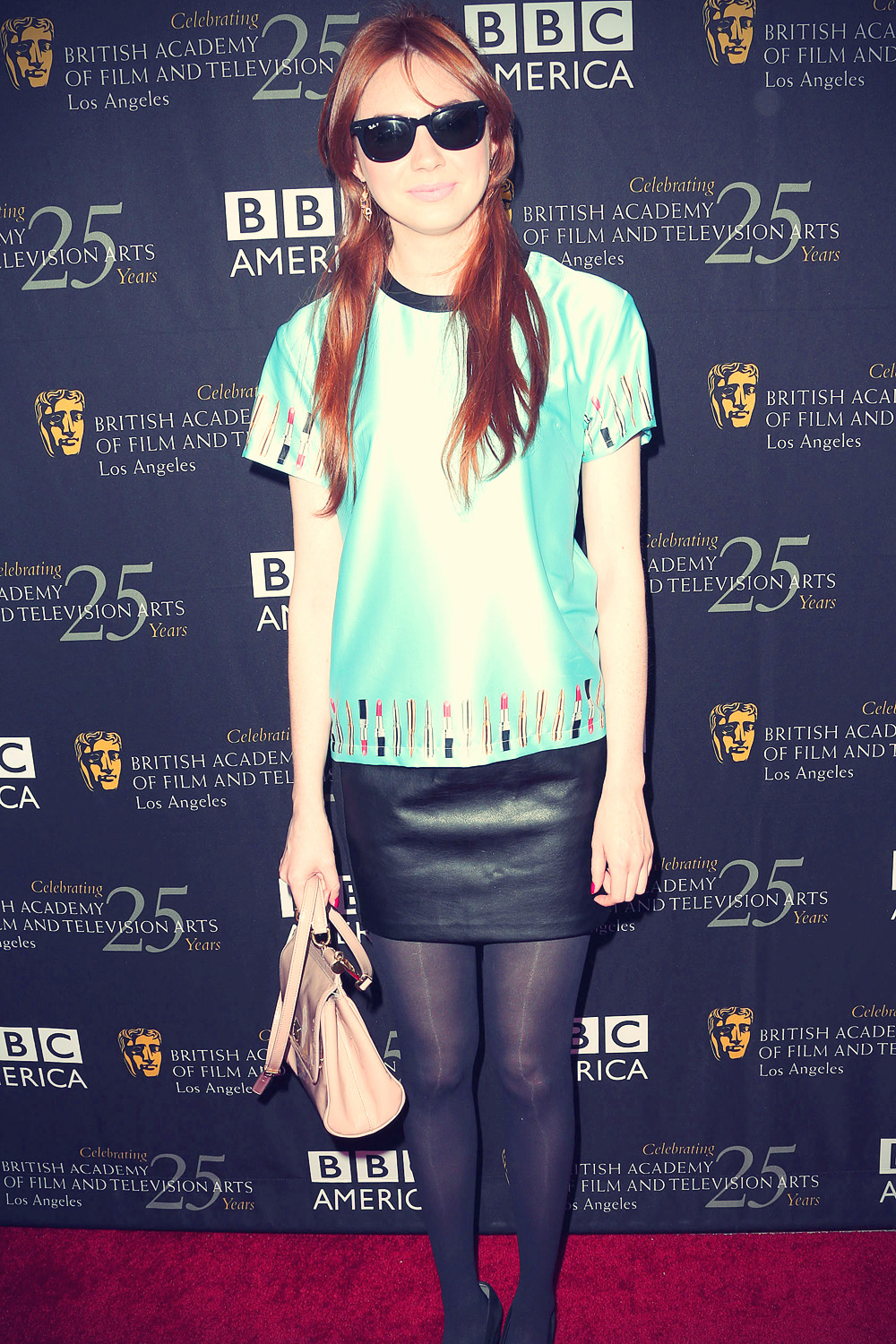 Karen Gillan at 2012 BAFTA Los Angeles TV Tea Party