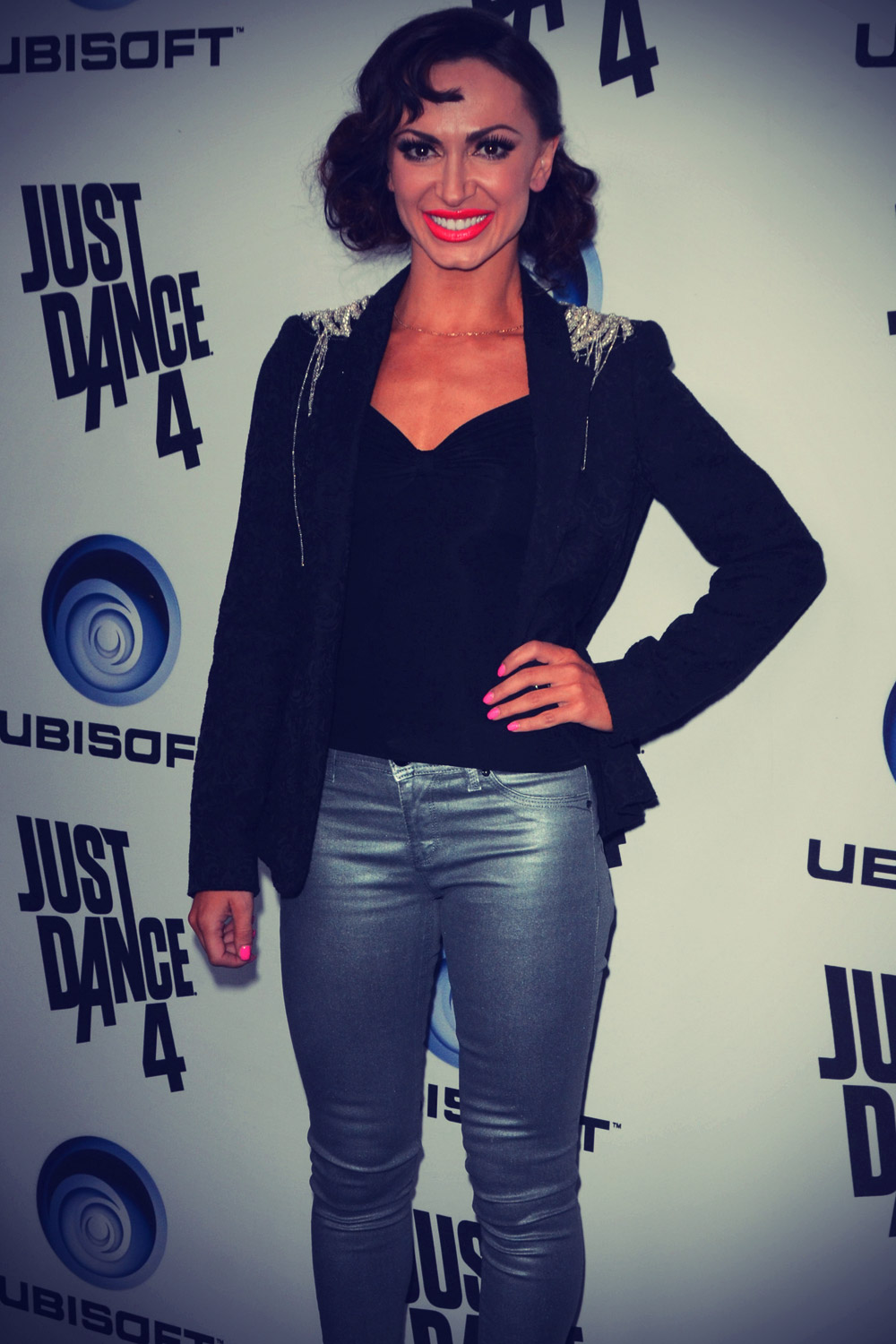 Karina Smirnoff at Ubisoft Presents The Launch Of Just Dance 4