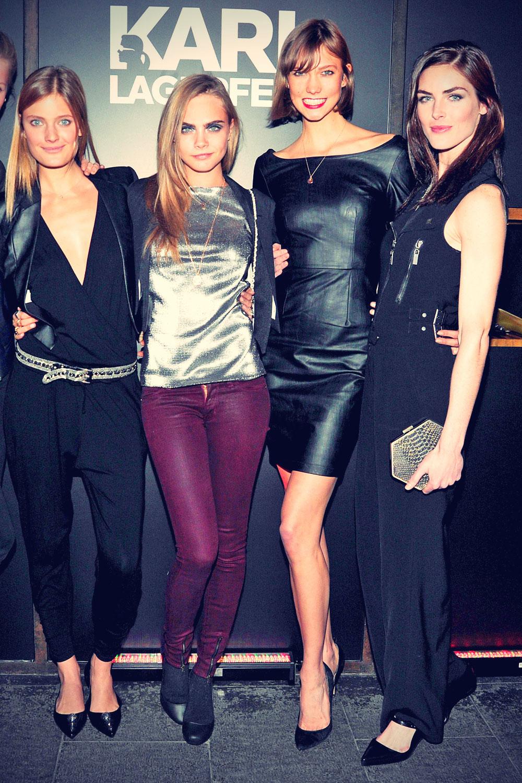 Celebs attend Melissa + Karl Lagerfeld Collaboration Celebratory Dinner