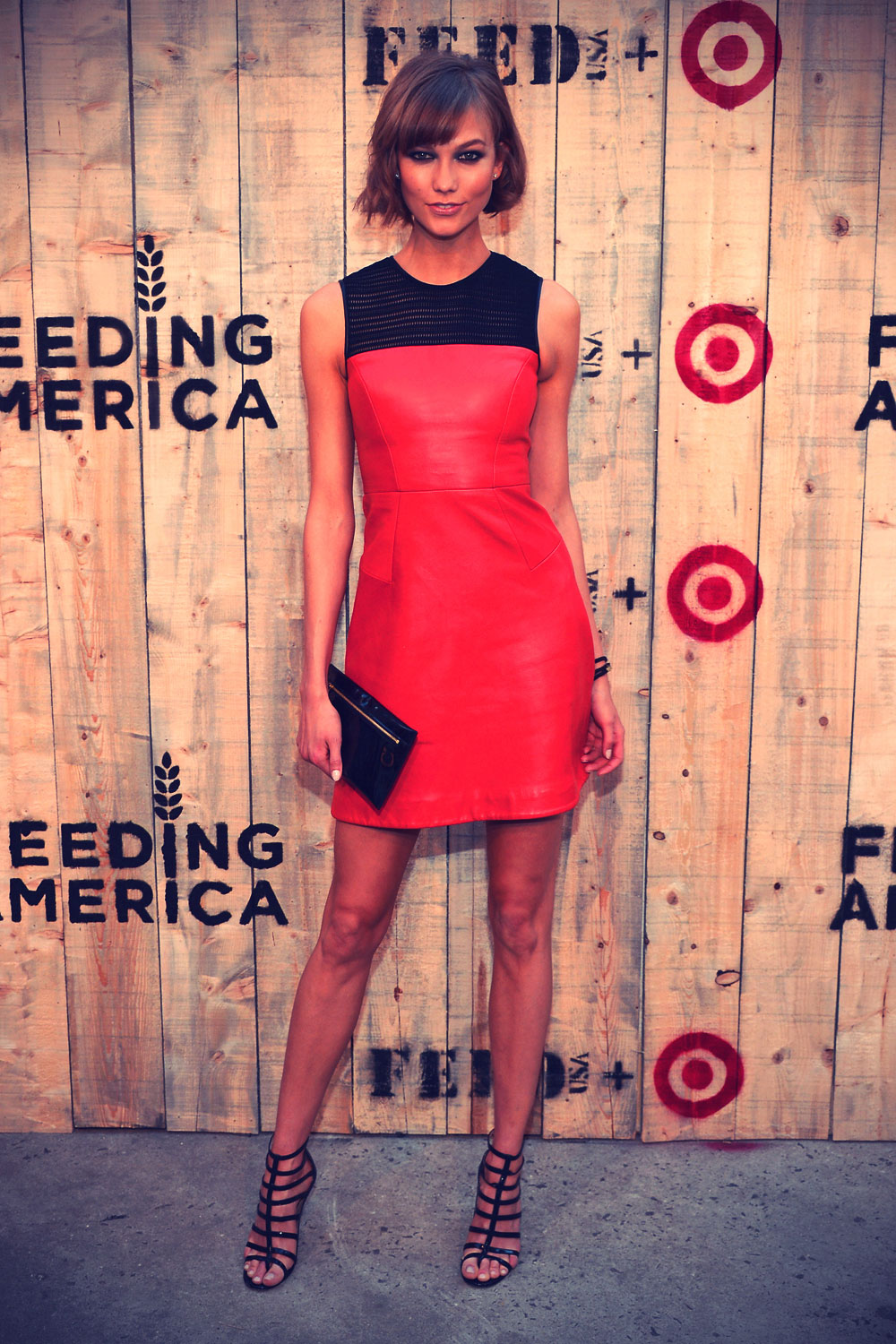 Karlie Kloss FEED USA & Target launch event