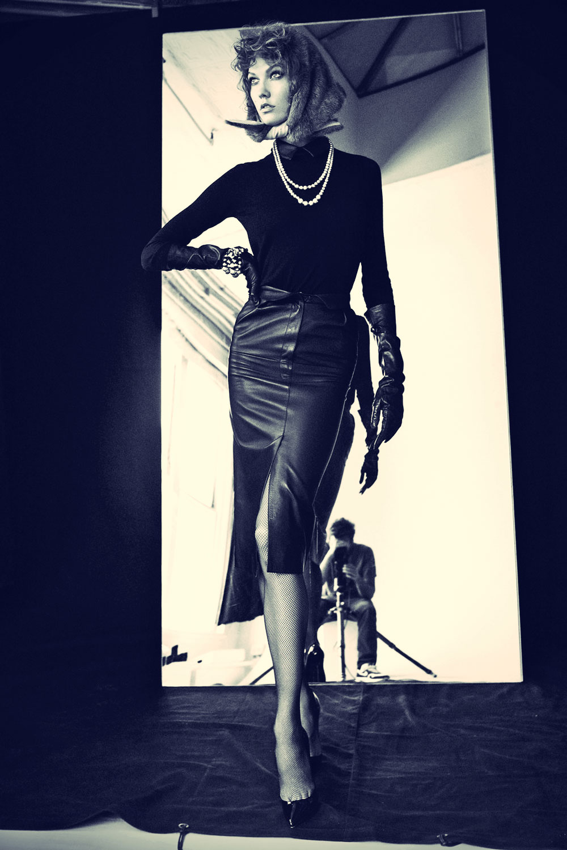 Karlie Kloss Victor Demarchelier Photoshoot for Magazine Antidote