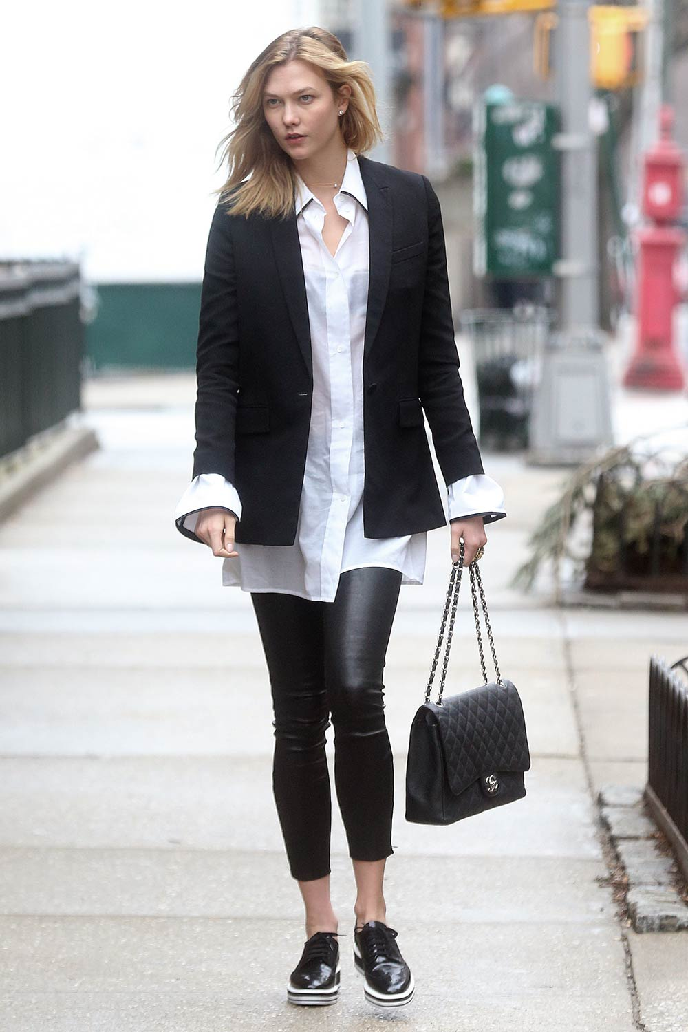 Karlie Kloss seen out and about in NYC