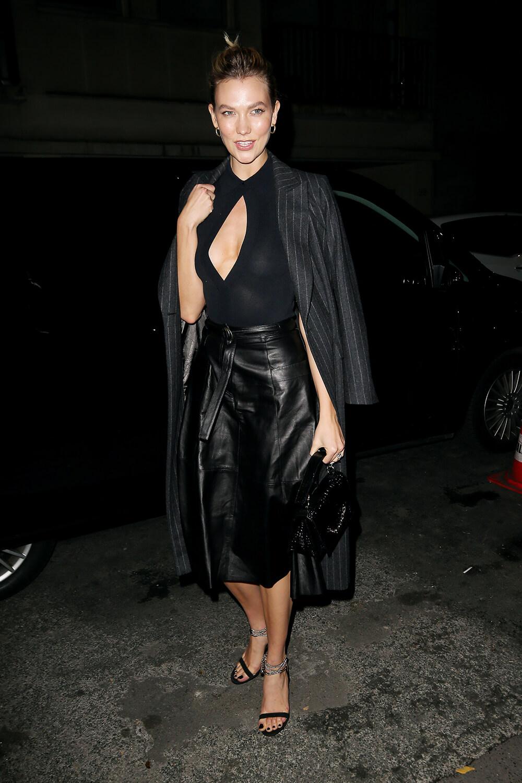 Karlie Kloss at Karl Lagerfeld Tribute