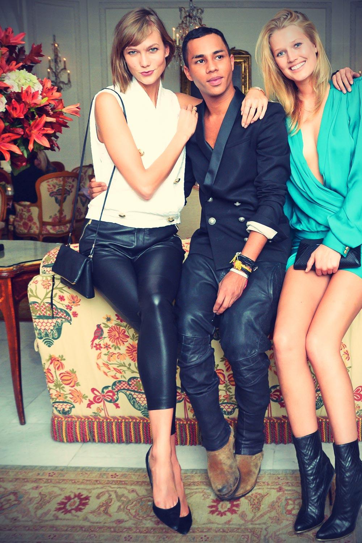 Karlie Kloss attends Balmain After Show Party
