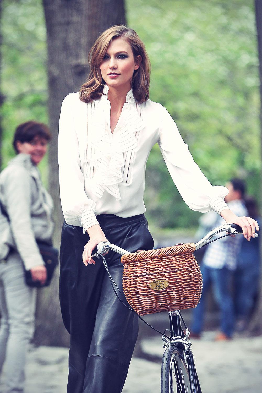 Karlie Kloss fashion photoshoot in New York