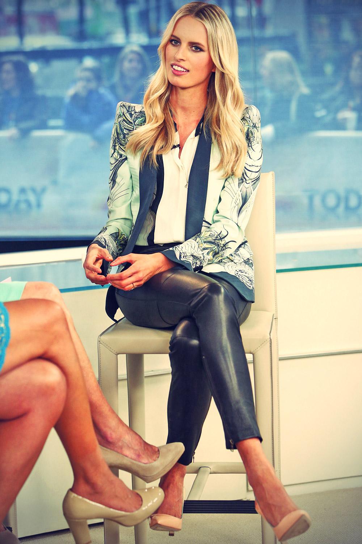 Karolina Kurkova appears on NBC News Today show