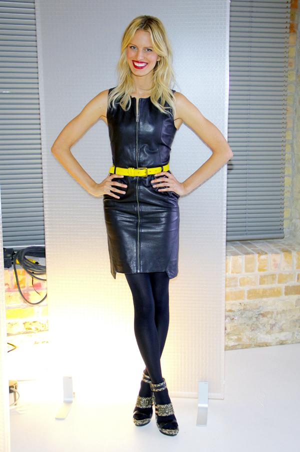 Karolina Kurkova at The Perfect Model in Berlin