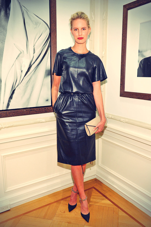 Karolina Kurkova attends Peter Lindbergh Artist reception