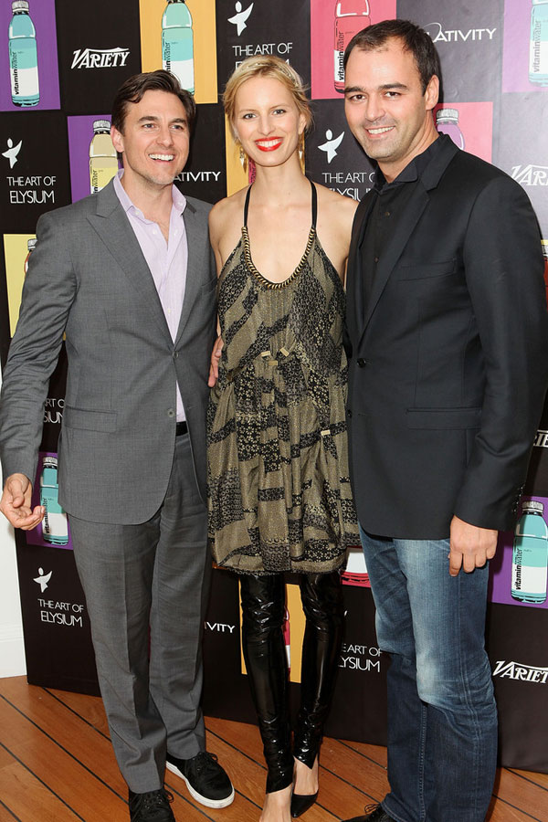 Karolina Kurkova attends the Art Of Elysium 3rd Annual Paradis Event