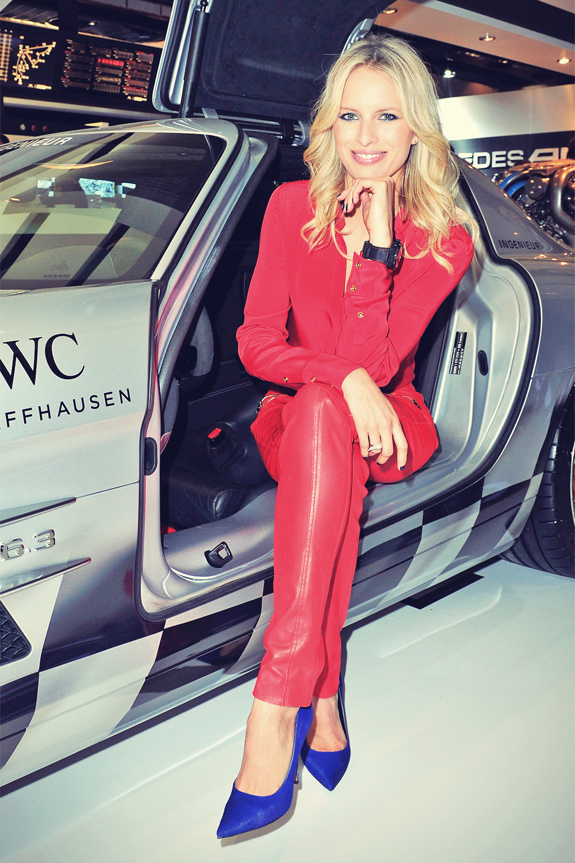 Karolina Kurkova at the Salon International Geneva