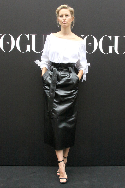 Karolina Kurkova attends VOGUE LIVE