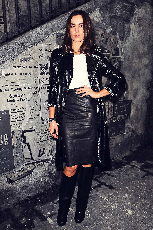 Kasia Smutniak Attends Chanel Metiers D Art 2015 16