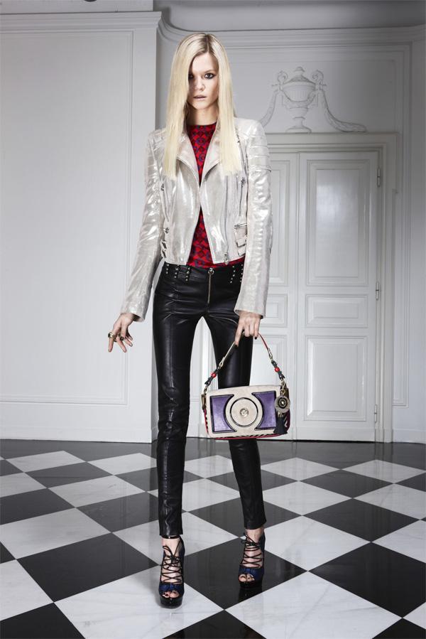 Kassia Struss Versace Pre-Fall 2011/12