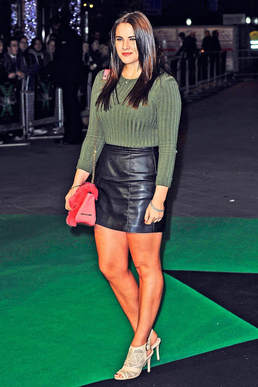Kat Shoob attends Ed Sheeran Jumpers For Goalposts premiere