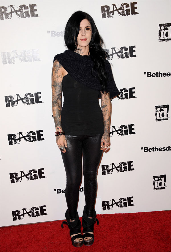 Kat Von D at Rage Official Launch Party in Los Angeles