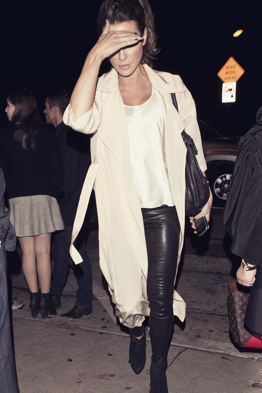 Kate Beckinsale at Craig's Restaurant