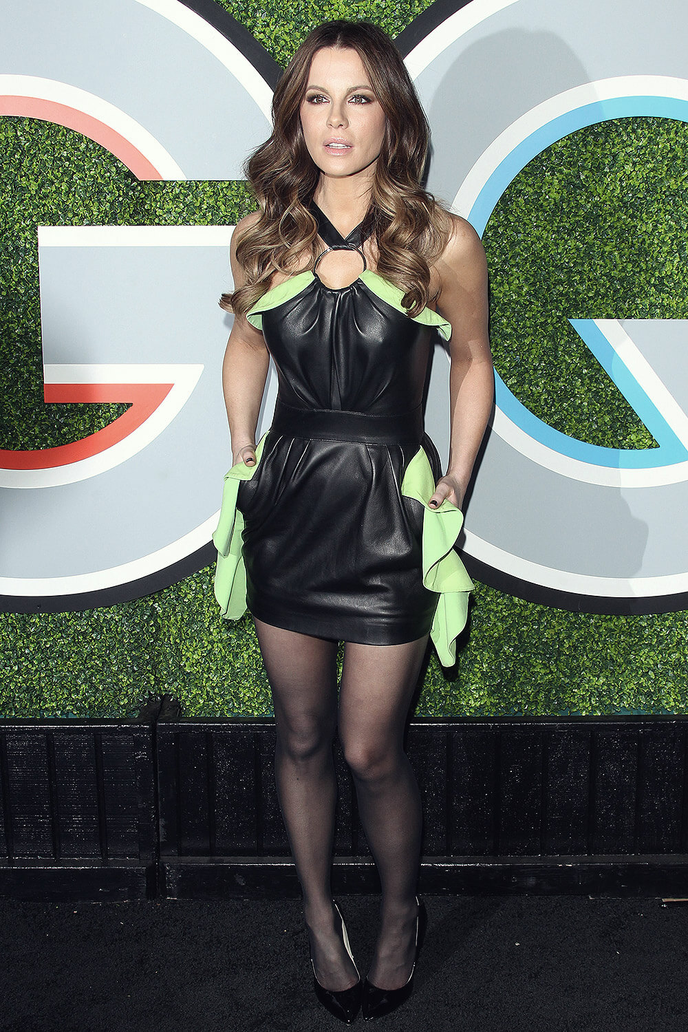Kate Beckinsale attends GQ Men of the Year Awards