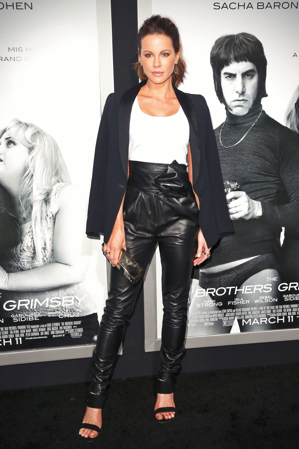 Kate Beckinsale attends The Brothers Grimsby premiere