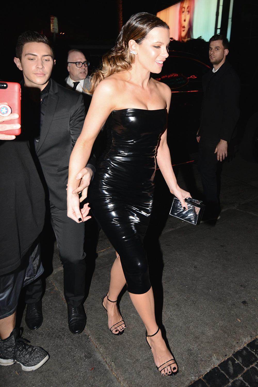 Kate Beckinsale outside W Magazine Celebrates Its 'Best Performances' Portfolio Party