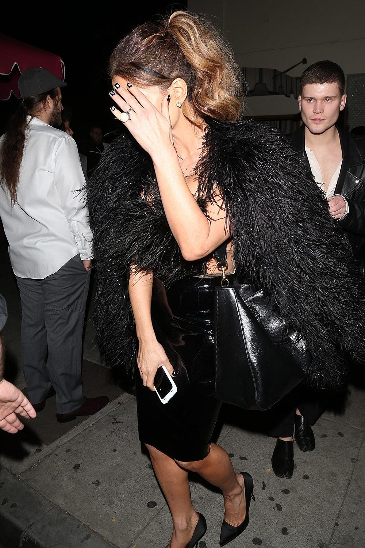 Kate Beckinsale seen leaving Delilah's