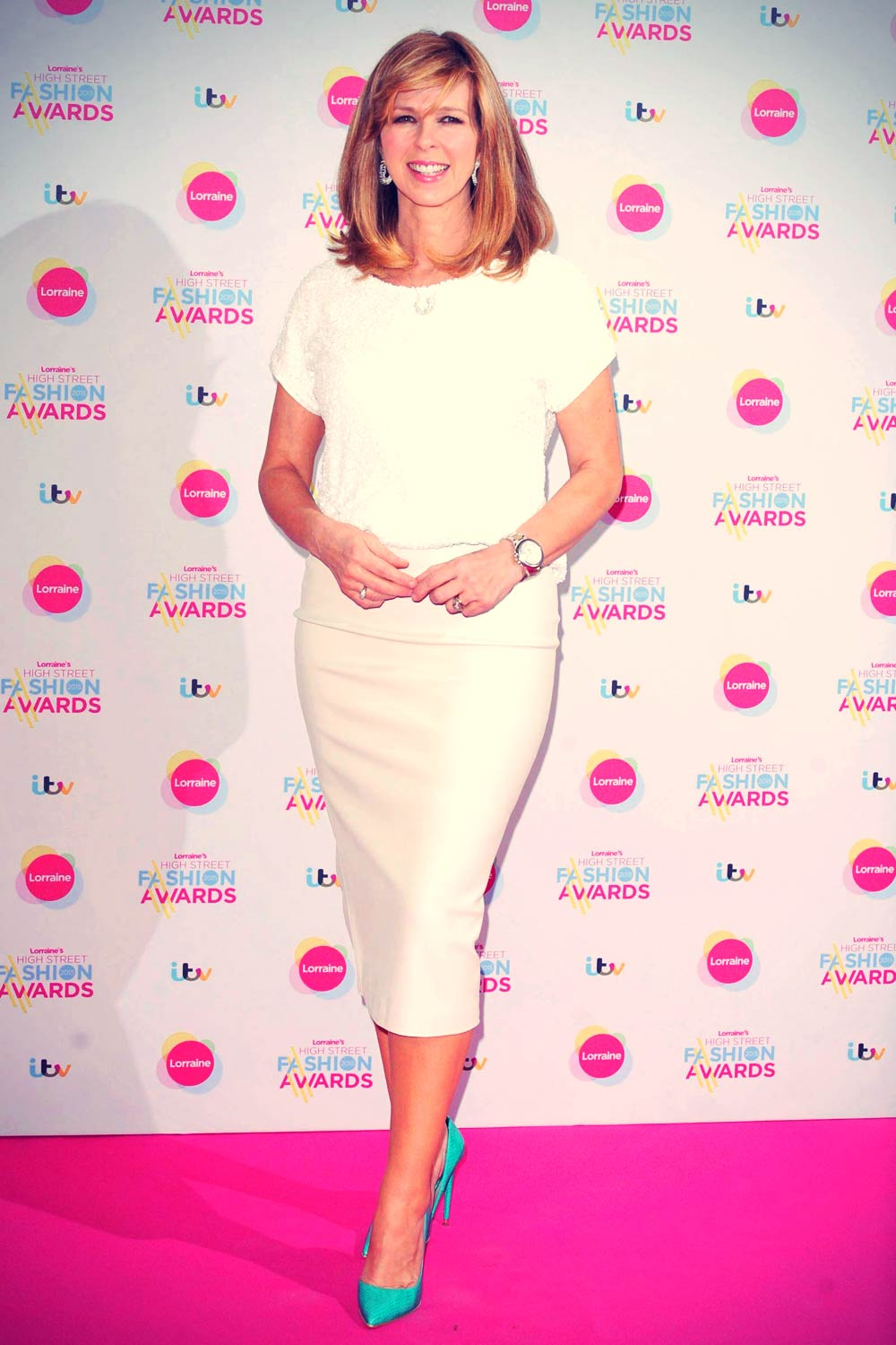 Kate Garraway attends Lorraine High Street Fashion