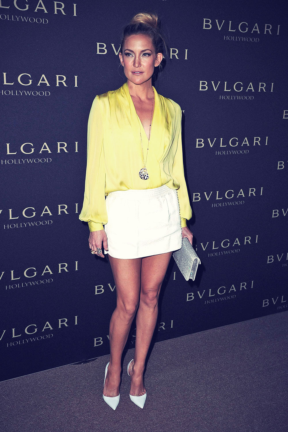 Kate Hudson attends BVLGARI Presents Decades Of Glamour