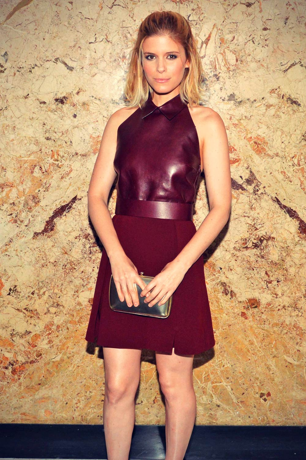 Kate Mara attends Gucci beauty launch event hosted by Frida Giannini