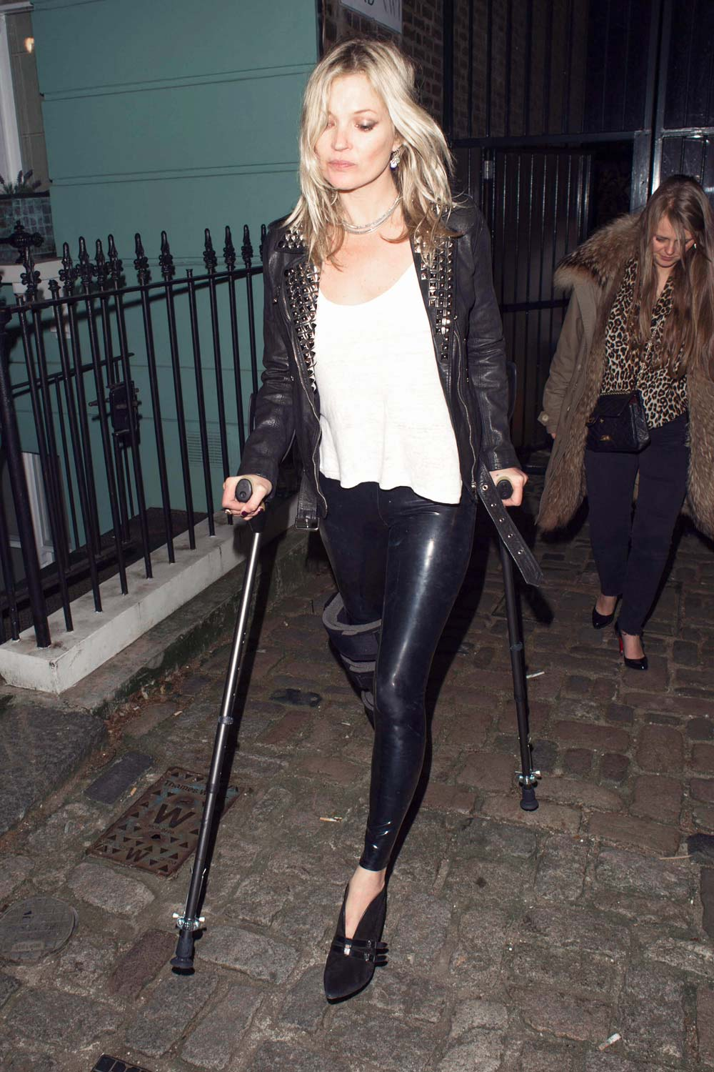 Kate Moss attends a London Fashion Week private afterparty