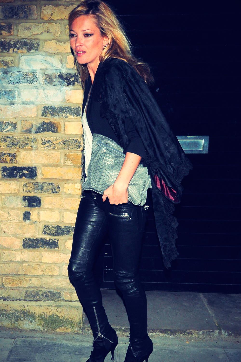 Kate Moss Night Out in London