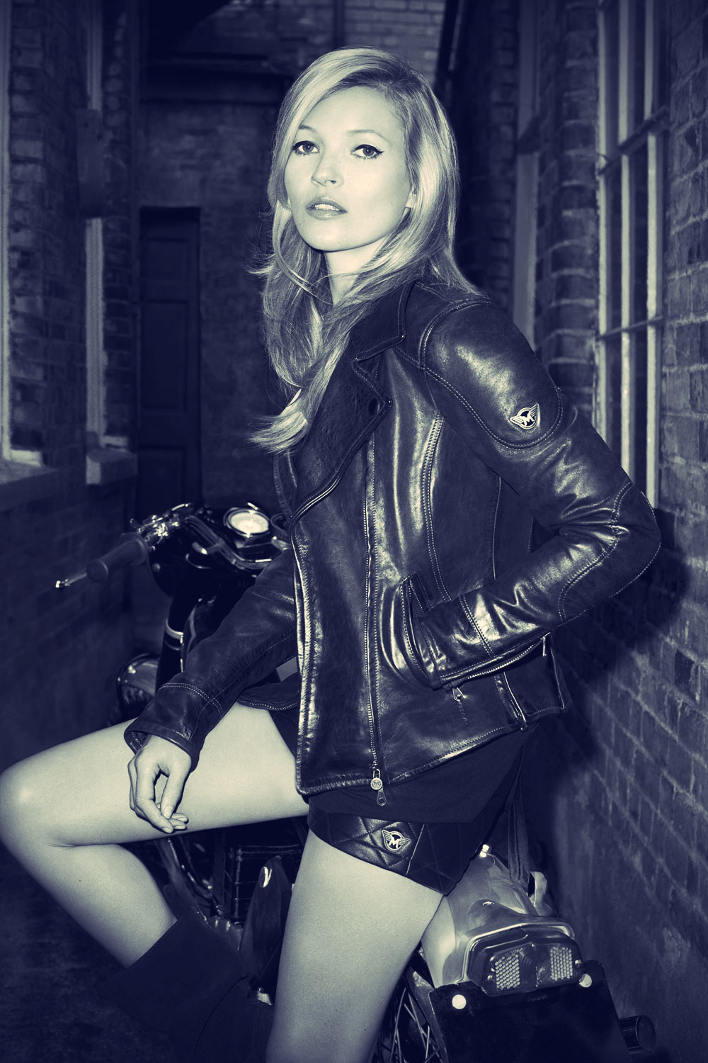 Kate Moss for Matchless London