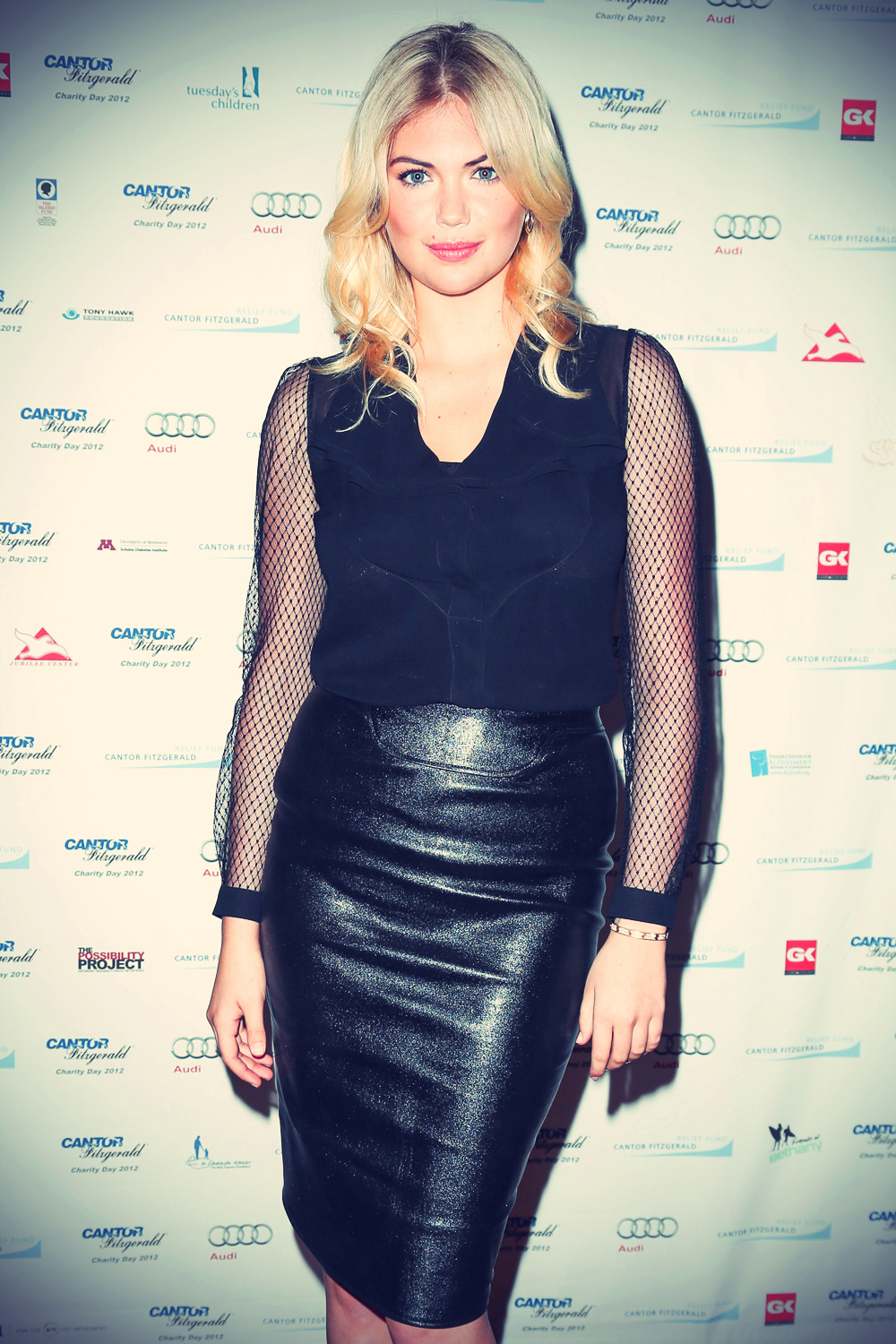 Kate Upton at Cantor Fitzgerald & BGC Partners charity event