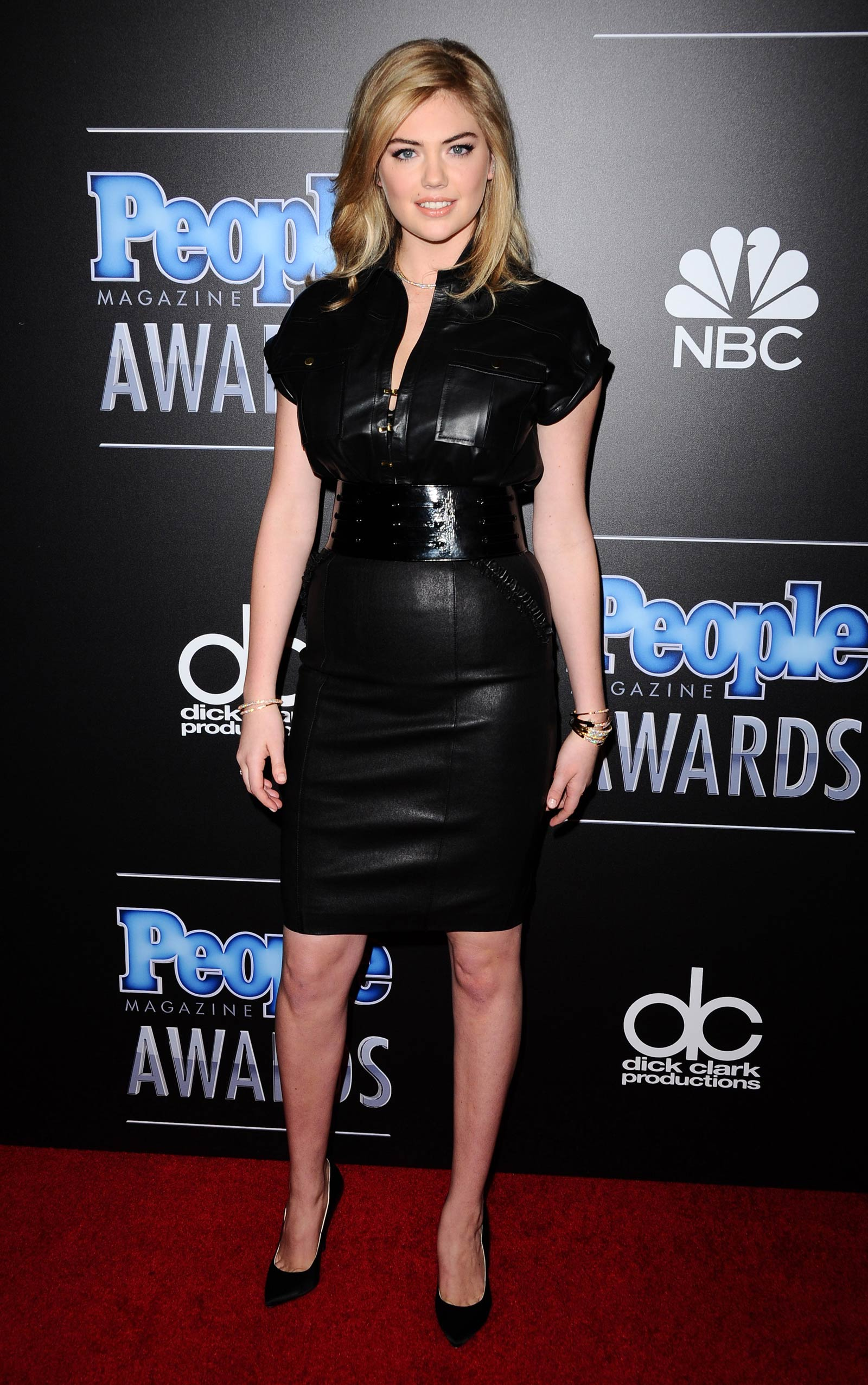Kate Upton attends The PEOPLE Magazine Awards