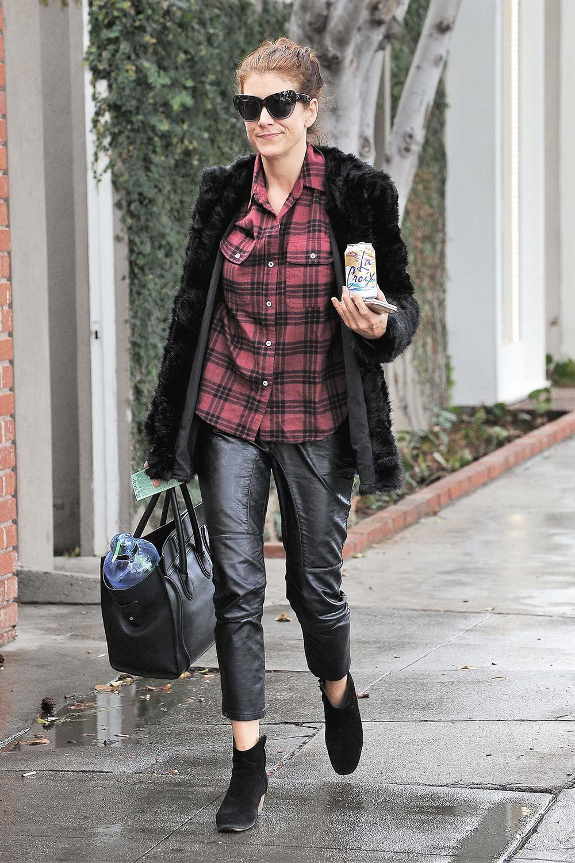Kate Walsh is seen on December 21, 2016 in Los Angeles, California.