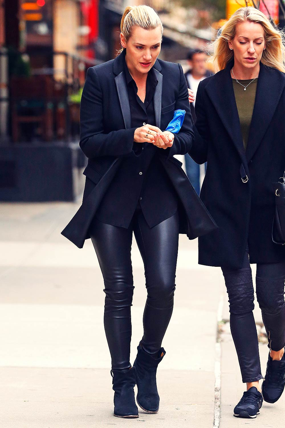 Kate Winslet out and about in New York