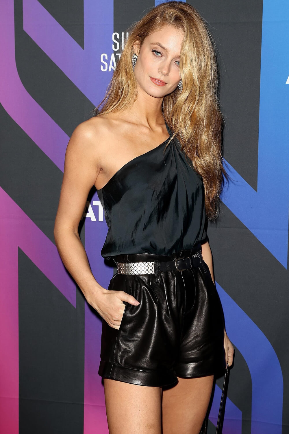 Kate Bock attends AT&T Super Saturday Night