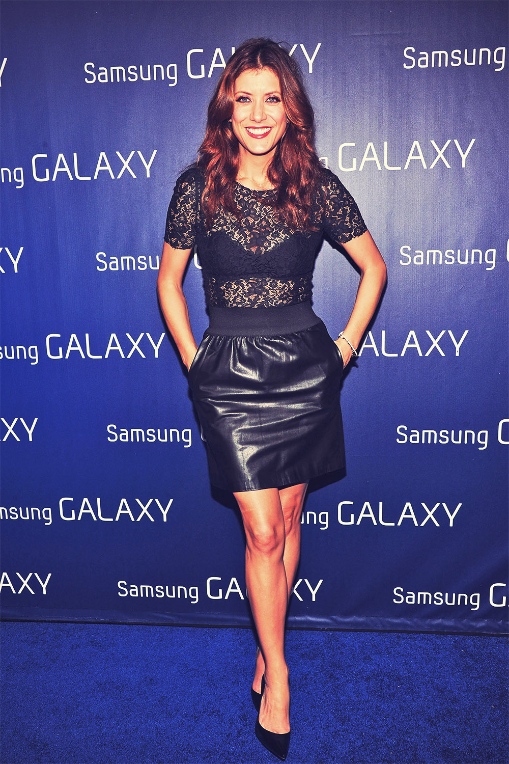 Kate Walsh attends the Samsung Galaxy Shanri-La Party