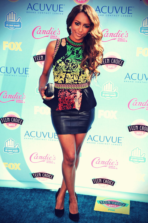 Katerina Graham attends 2013 Teen Choice Awards