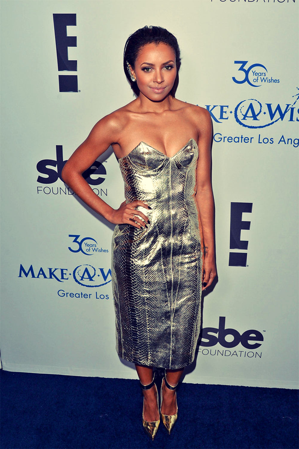 Katerina Graham attends Make-A-Wish Greater LA