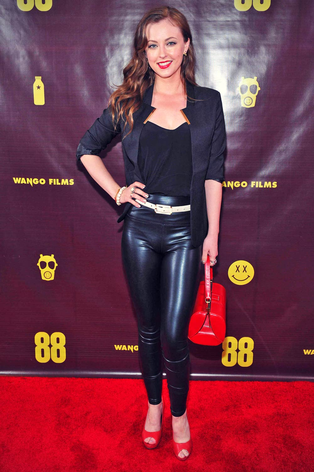 Katharine Isabelle attends the 88 Canadian premiere