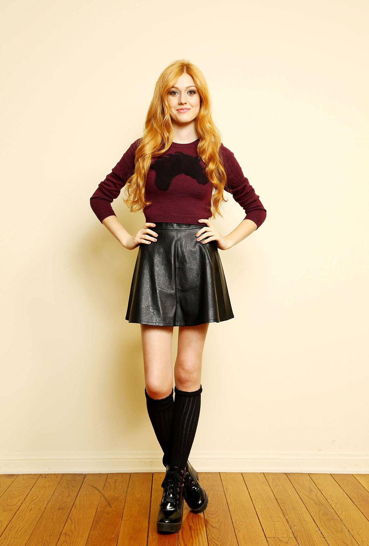 Katherine McNamara photoshoot for Sara Jaye Weiss